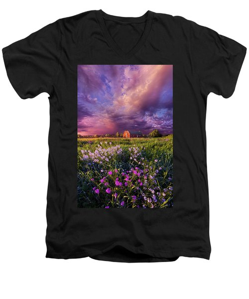 Songs Of Days Gone By Men's V-Neck T-Shirt by Phil Koch
