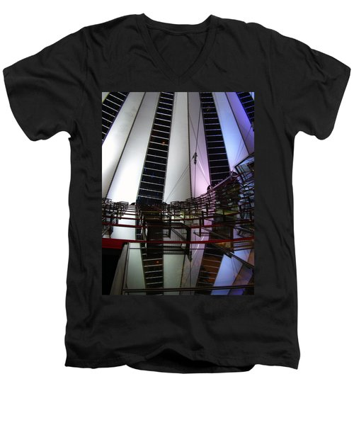 Sony Center II Men's V-Neck T-Shirt