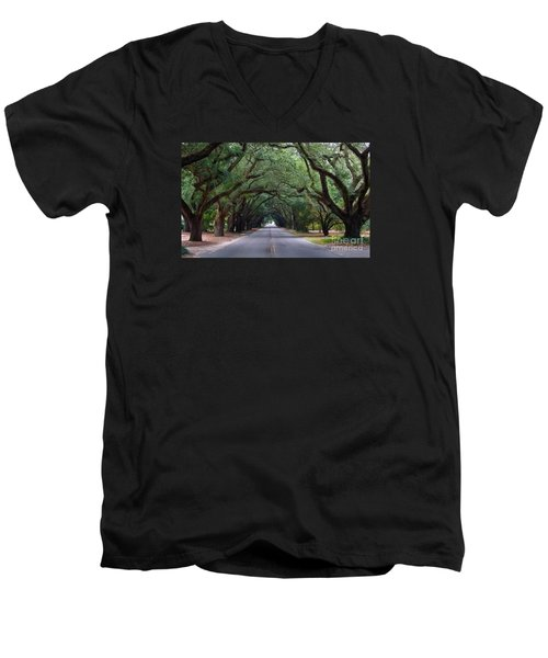 South Boundry Men's V-Neck T-Shirt