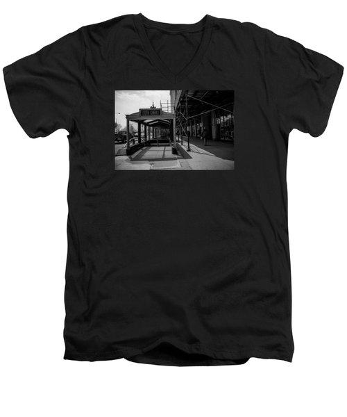 South Garage Men's V-Neck T-Shirt by Ester  Rogers