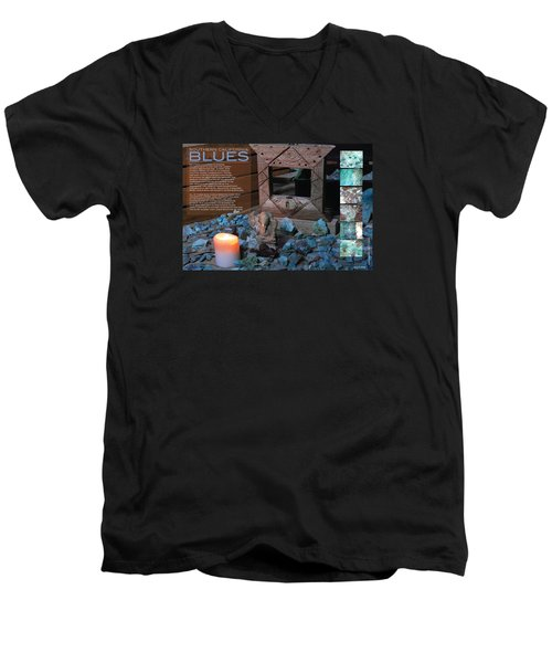 Southern California Blues Men's V-Neck T-Shirt