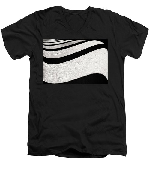 Space Geometry #16 Men's V-Neck T-Shirt