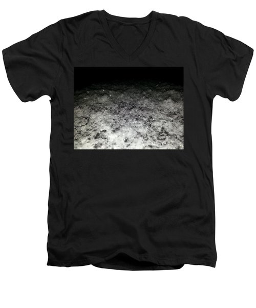 Men's V-Neck T-Shirt featuring the photograph Sparkling Darkness by Robert Knight