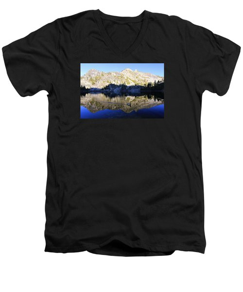 Men's V-Neck T-Shirt featuring the photograph Speak Up For All Wildlife  by Sean Sarsfield