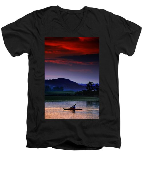 Spectral Crossing Men's V-Neck T-Shirt