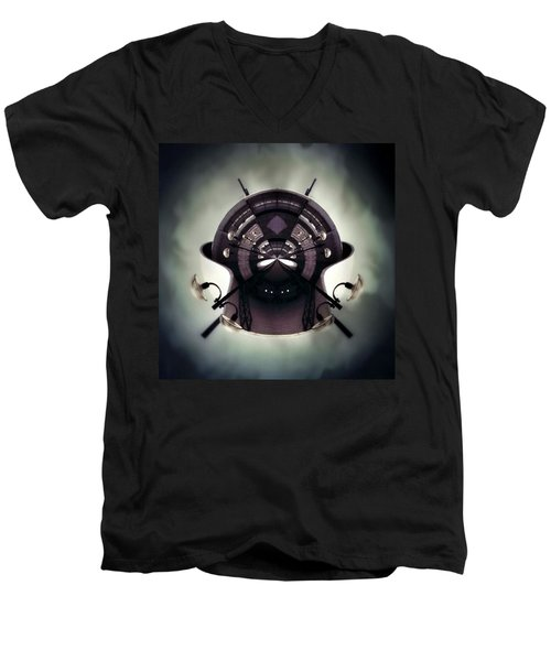 Spherical Men's V-Neck T-Shirt