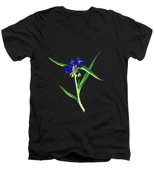 Spider Wort Men's V-Neck T-Shirt