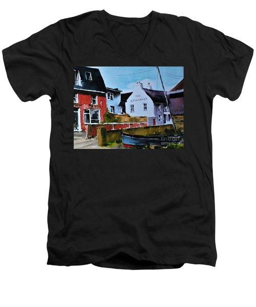 Spinaker In Scilly  Kinsale Men's V-Neck T-Shirt