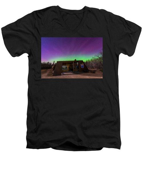 Spirit Sands Men's V-Neck T-Shirt