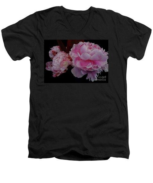 Splendor In Pink Men's V-Neck T-Shirt