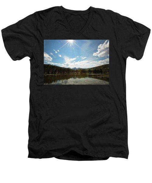 Sprague Lake Men's V-Neck T-Shirt