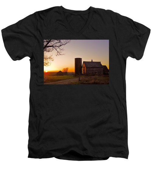 Spring At Birch Barn 2 Men's V-Neck T-Shirt