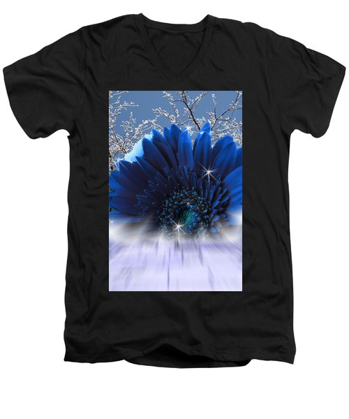 Spring Emergence  Men's V-Neck T-Shirt by Cathy  Beharriell