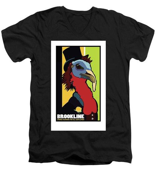 Spring Fashion Men's V-Neck T-Shirt
