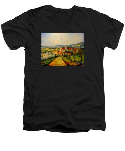 Springtime II Men's V-Neck T-Shirt