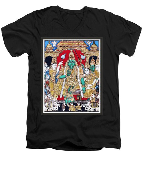 Sri Ramar Pattabhishekam Men's V-Neck T-Shirt