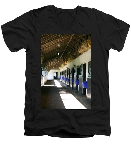 Stable Ready Men's V-Neck T-Shirt