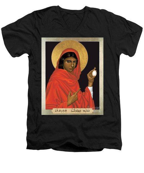 St. Mary Magdalene - Rlmam Men's V-Neck T-Shirt