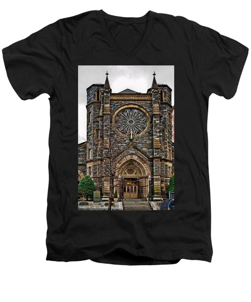 St. Patrick's Church Men's V-Neck T-Shirt