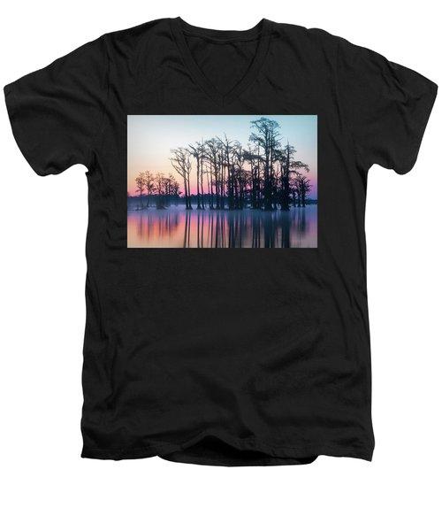 St. Patrick's Day Sunrise Men's V-Neck T-Shirt
