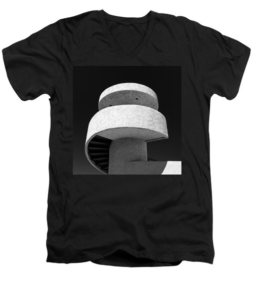 Stairs To Nowhere Men's V-Neck T-Shirt