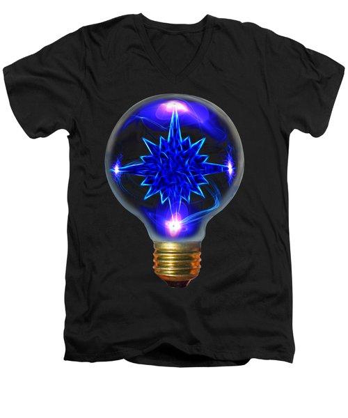Star Bright Men's V-Neck T-Shirt