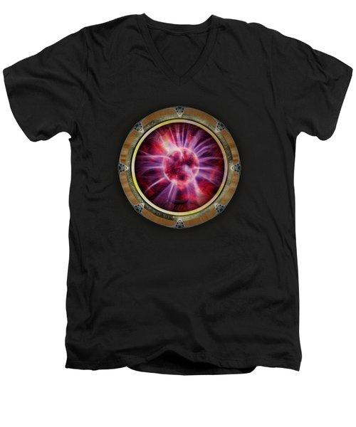 Star Gateways By Pierre Blanchard Men's V-Neck T-Shirt