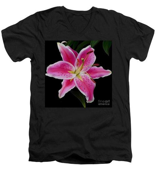 Star Gazed Men's V-Neck T-Shirt