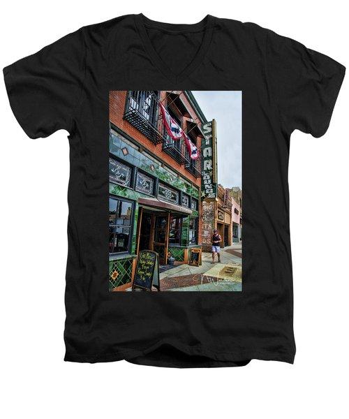 Star Lounge Men's V-Neck T-Shirt