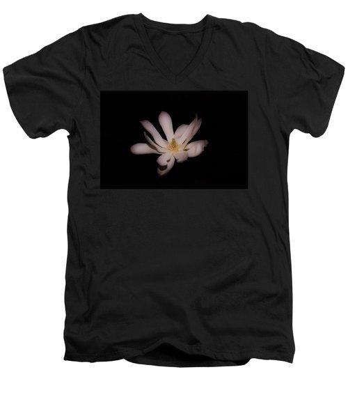 Star Magnolia Men's V-Neck T-Shirt