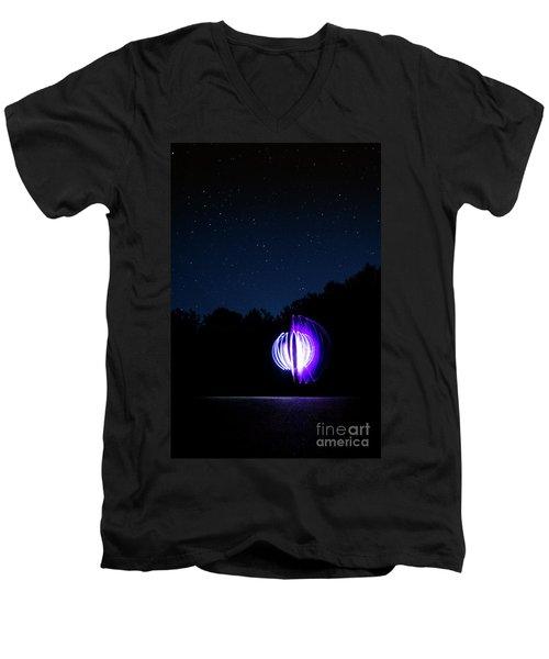 Star Orb Men's V-Neck T-Shirt