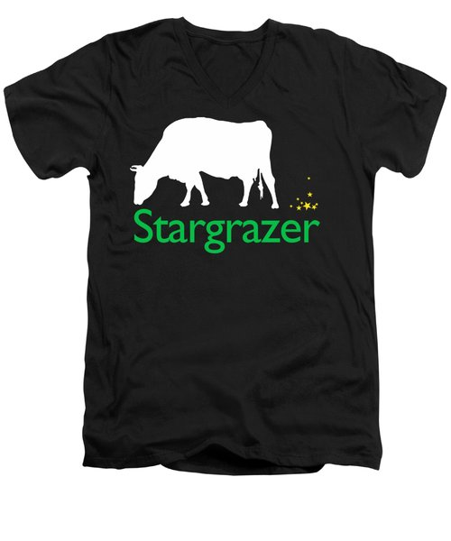 Stargrazer Men's V-Neck T-Shirt by Jim Pavelle