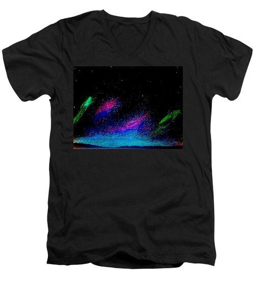 Starry Night 2 Men's V-Neck T-Shirt