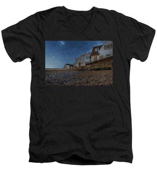 Starry Skies Men's V-Neck T-Shirt