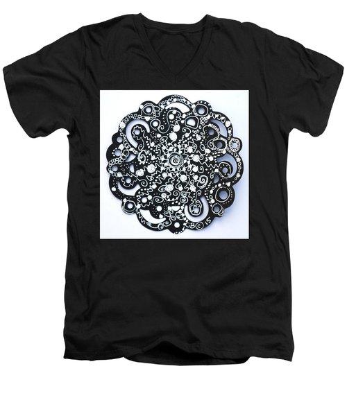 Stars Men's V-Neck T-Shirt