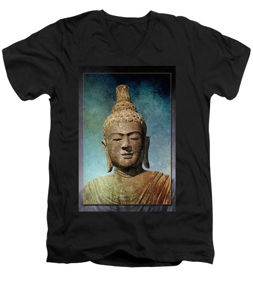 Statue 3 Men's V-Neck T-Shirt