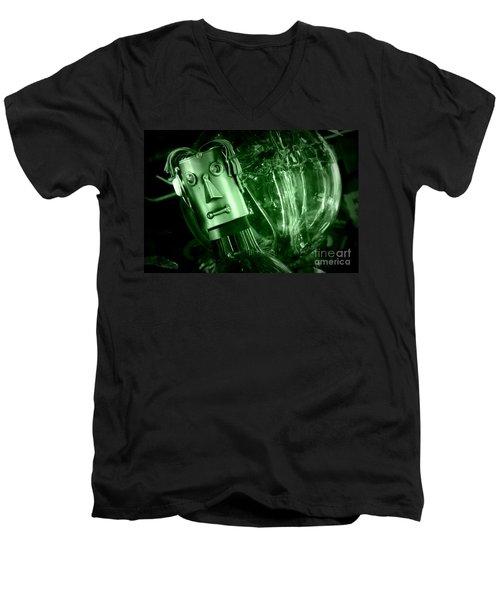 Steel Jelly Men's V-Neck T-Shirt