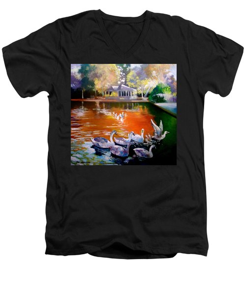 Stephens Green Dublin Ireland Men's V-Neck T-Shirt