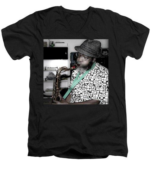 Steve Gundhi Men's V-Neck T-Shirt