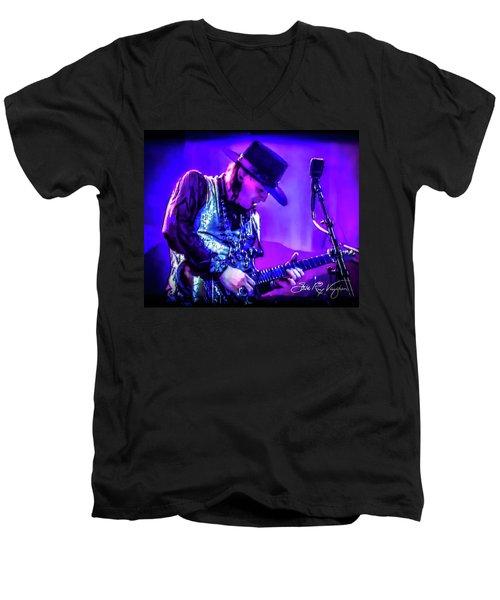 Stevie Ray Vaughan - Tightrope Men's V-Neck T-Shirt