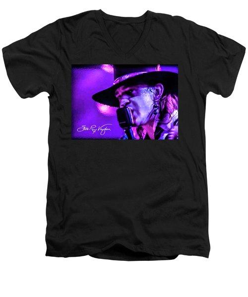 Stevie Ray Vaughan- Voodoo Chile Men's V-Neck T-Shirt