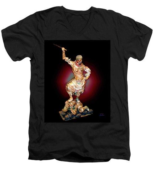 Stick Up Men's V-Neck T-Shirt