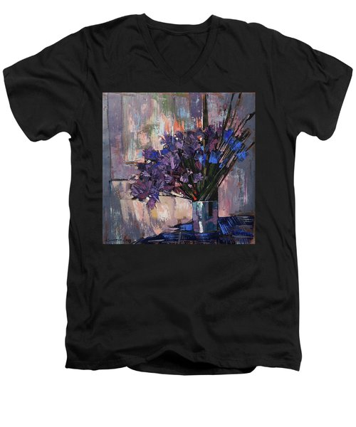 Still Life. Summer Rain Men's V-Neck T-Shirt