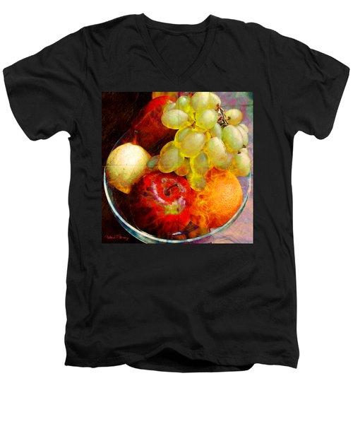Still Life Tiles Men's V-Neck T-Shirt