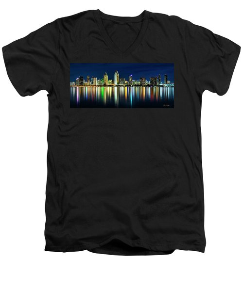 Still Of The Night Men's V-Neck T-Shirt