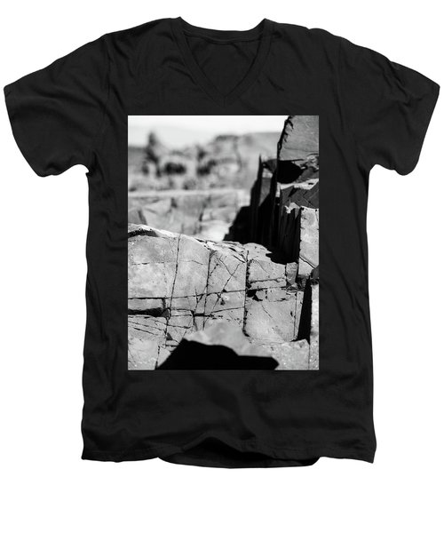 Stone Architecture Men's V-Neck T-Shirt