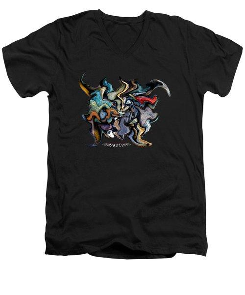 Stone Walker Transparency Men's V-Neck T-Shirt
