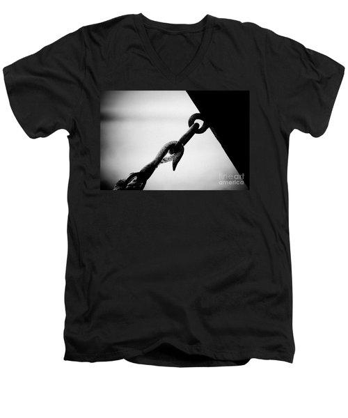 Stop Men's V-Neck T-Shirt