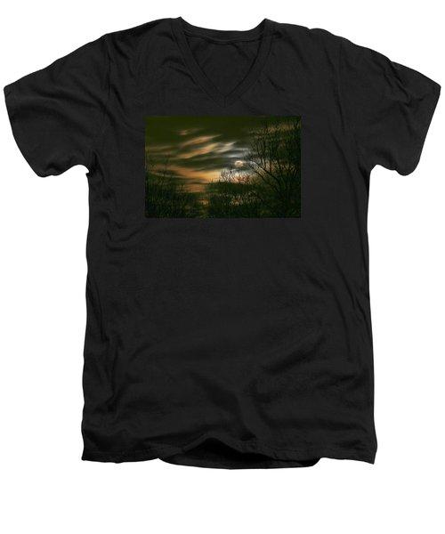 Storm Rollin' In Men's V-Neck T-Shirt
