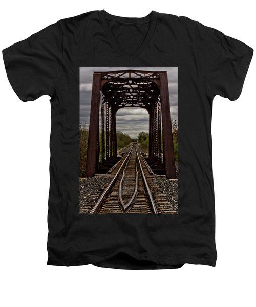 Straight And Narrow Men's V-Neck T-Shirt